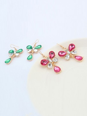 Occident Stylish New Butterfly Earrings