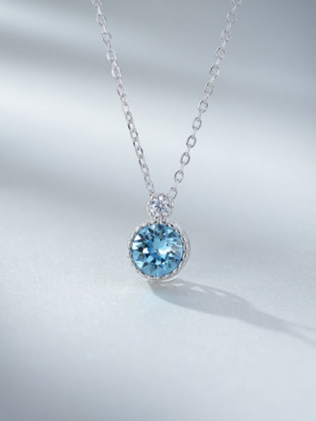 Fashion Ladies's 925 Sterling Silver Necklaces