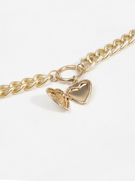 Women's Alloy With Heart Hot Sale Necklaces