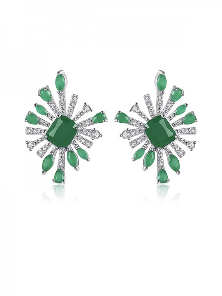 Gorgeous Cubic Zirconia Girls Earrings