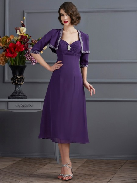 Chiffon 1/2 Sleeves Special Occasion Wrap