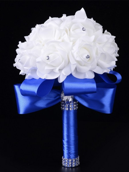 Wedding Foam Flowers Rose Bridal Bouquet
