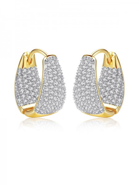 Pretty Cubic Zirconia Hot Sale Women's Earrings