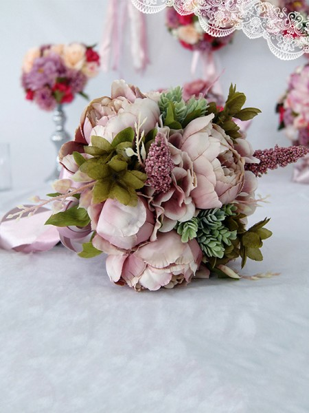 Bridal Silk Flower Wedding Home Party Decoration