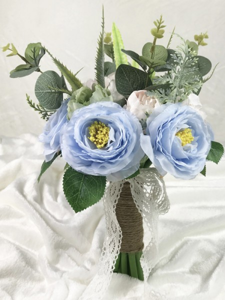 Silk Flower Free-Form Nice Bridal Bouquets