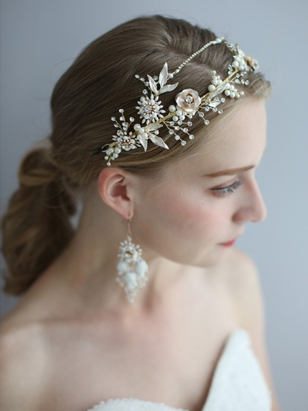 Bright Alloy Bridal Headpieces