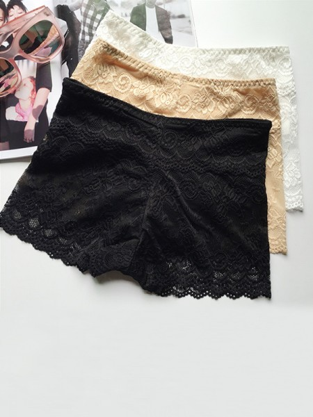 Lace Elastic Women's Safety Pants/Safety Shorts