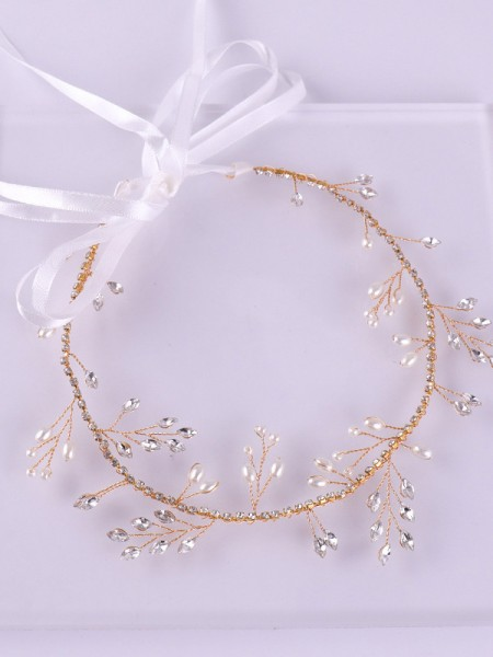 Charming Czech Alloy Wedding Headpieces