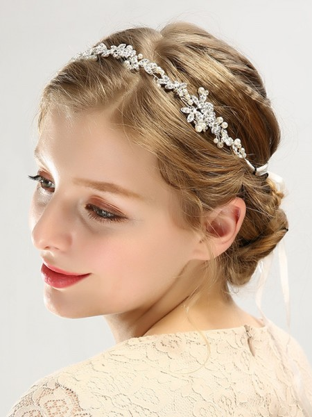 Bright Czech Pearl Wedding Headpieces